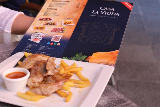 Casa La Viuda Chicken & Firies