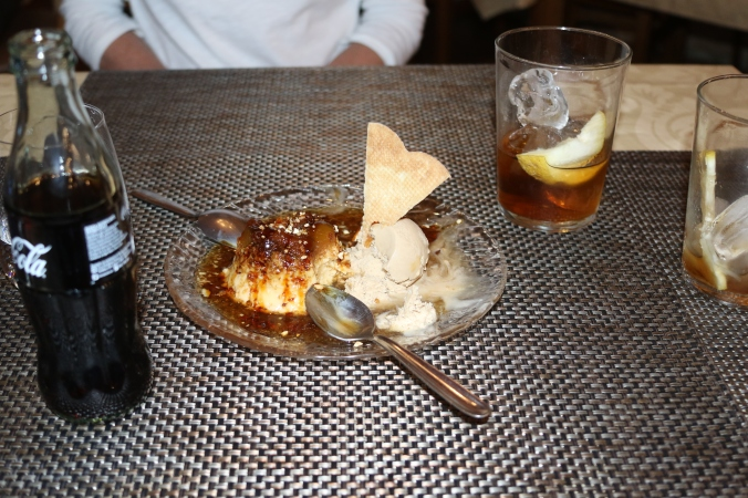 Casa Paco Flan de Fig Coffee Icecream