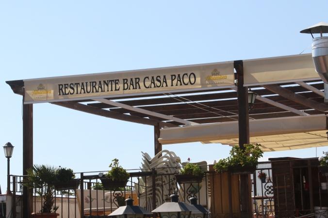 Casa Paco Upstairs Dining