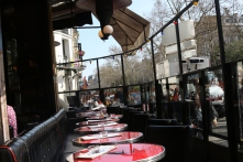 Le Chat Noir Outside seating