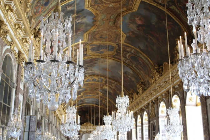 Palace hallways