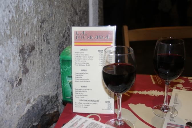 Spanish WIne La Morada Rest